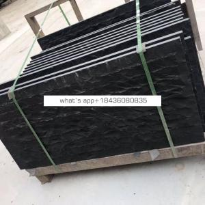 600X900 Chiselled Chinese Black Basalt/Granite Cut-to-size Tile or Slabs