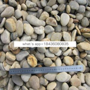 Garden paving decorative river water wash stones pebble for landscaping