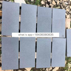 Hot Sale Satin-brushed Grey Volcanic Basalt Cut-to-size Tile, Slabs,Panel, Flagstone