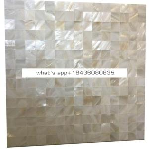 Kitchen backsplashes shell marble panel tile mother of pearl mosaic