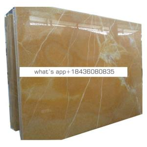 Luxury decoration natural yellow honey onyx stone price per square meter
