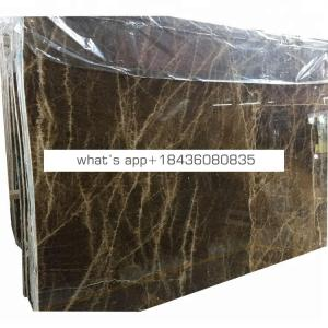 Polished sugar brown onice luxury marble floors onyx slab
