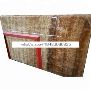 Promotion cheap price jade beige brown onice onyx slabs