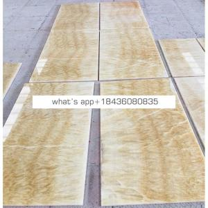 Wholesale price onice stone honey onyx floor tile